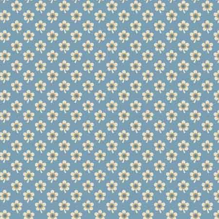 Andover Blue Sky Fabrics by Edyta Sitar for Laundry Basket Quilts - A-8510-W Daisy Baltic