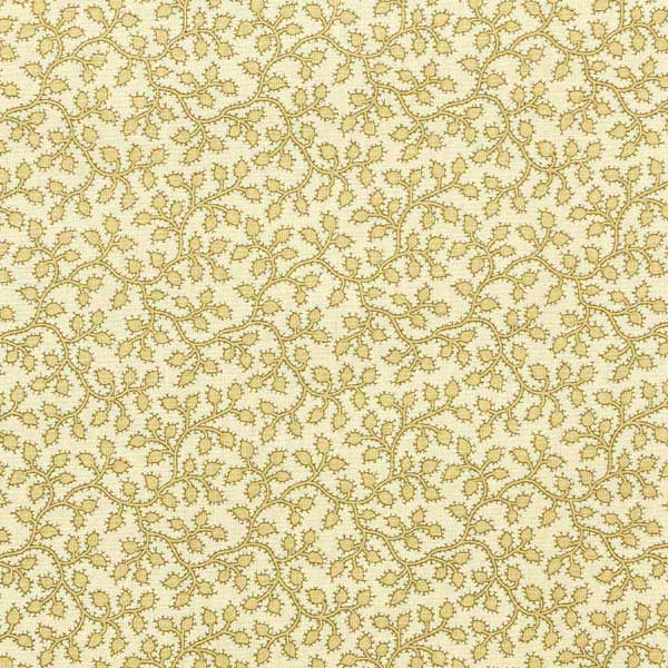 Andover Crystal Farm Fabrics by Edyta Sitar for Laundry Basket Quilts - A-8621-L Vines and Berries Wheat