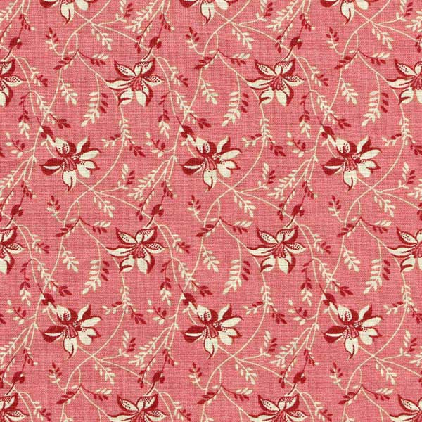 Andover Sequoia Fabrics by Edyta Sitar for Laundry Basket Quilts - ANDOVER-SEQUOIA-BUDS-AND-VINE-8753-E-PINKBERRY