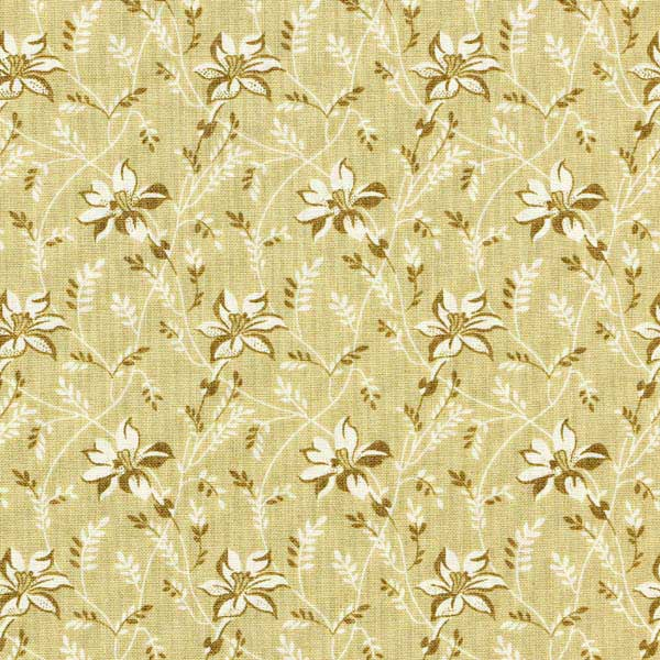 Andover Sequoia Fabrics by Edyta Sitar for Laundry Basket Quilts - ANDOVER-SEQUOIA-BUDS-AND-VINE-8753-N-GRANITE