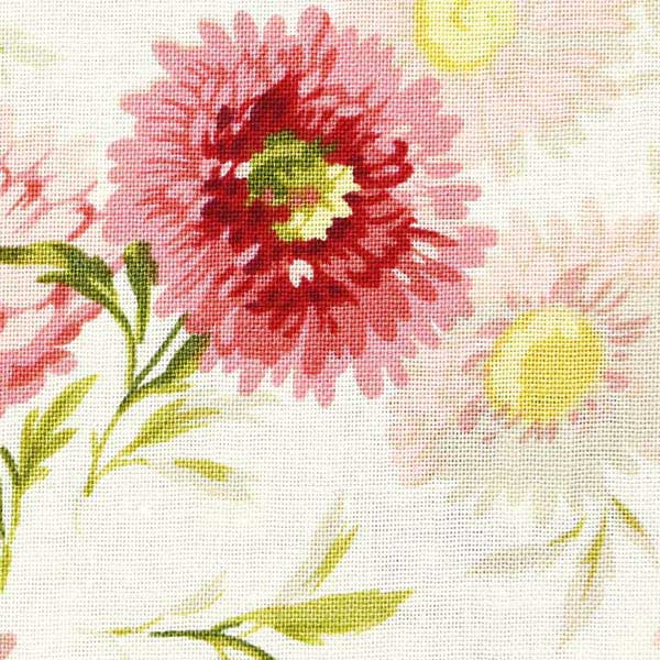 Andover Sequoia Fabrics by Edyta Sitar for Laundry Basket Quilts - ANDOVER-SEQUOIA-DAISIES-8751-E-TOUCH-OF-PINK