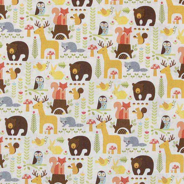 Forest Animals fabric