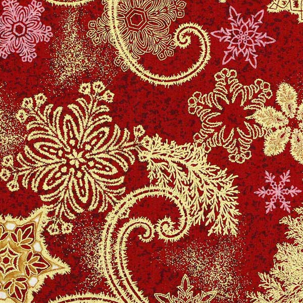 Buy Christmas fabrics for patchwork quilts and crafts from ...