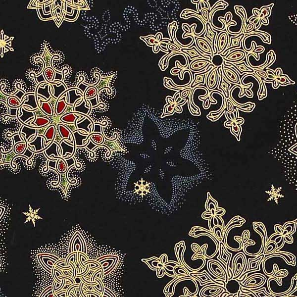 ROBERT_KAUFMAN_HOLIDAY_FLOURISH_10_APTM-16561-2_BLACK