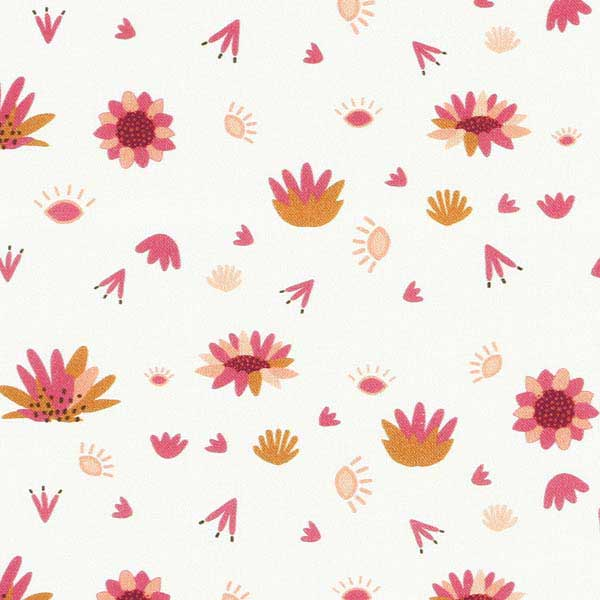 DASHWOOD STUDIO SERENGETI SRGT-2289 CREAM FLOWER