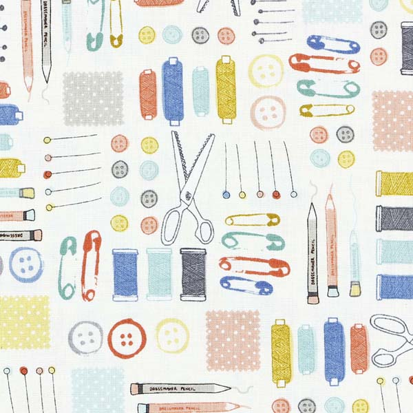 sewing themed fabric for patchwork