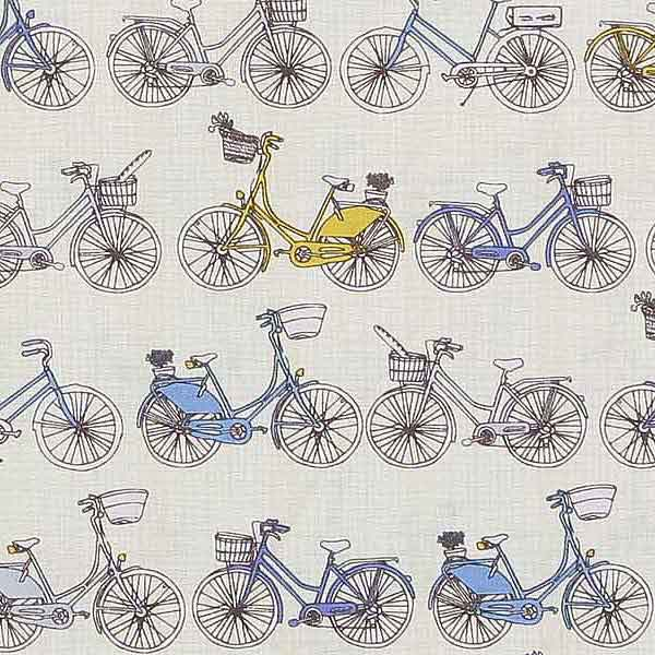 vintage cycles fabric for patchwork