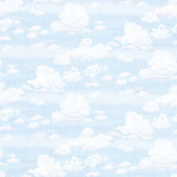 sky with clouds fabric for patchwork