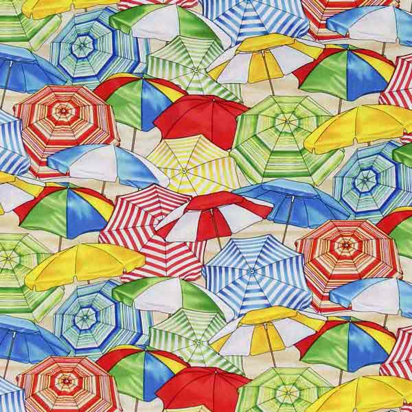 beach parasol travel fabric for patchwork