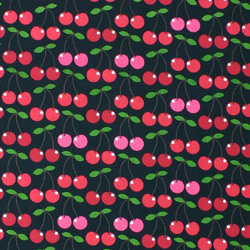 red cherry fabric for patchwork