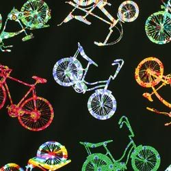bike fabric for patchwork