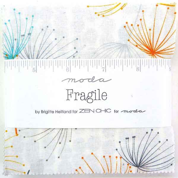 Moda Charm Pack Fragile by Zen Chic