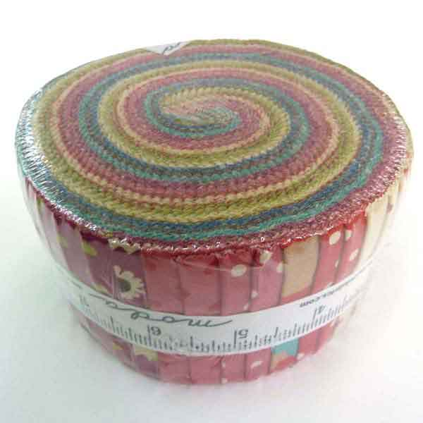 Moda jelly Roll Lucky Day by Momo