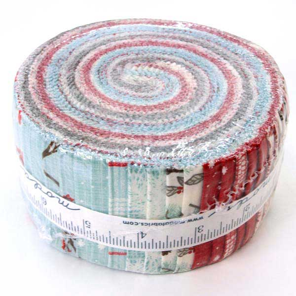Moda Jelly Roll Return to Winters Lane by Kate and Birdie