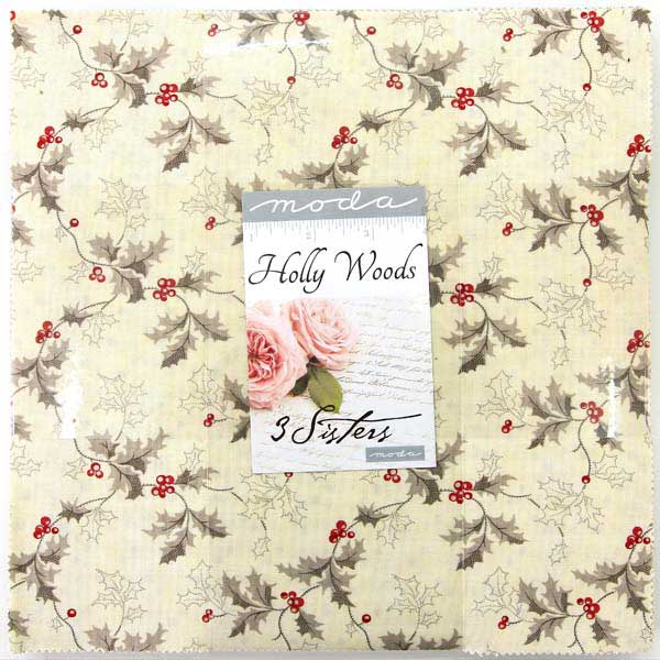 Moda Layer Cake Holly Woods by 3 Sisters