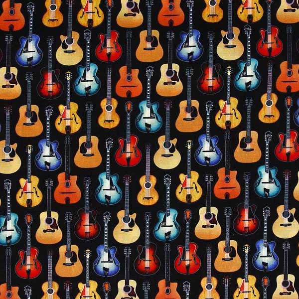 MUSICAL INSTRUMENT FABRIC NUTEX-ACOUSTIC-GUITARS-38390-1