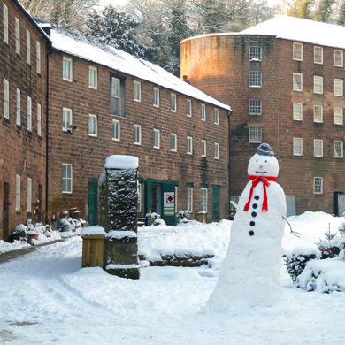 Arkwright's Mill Snowman