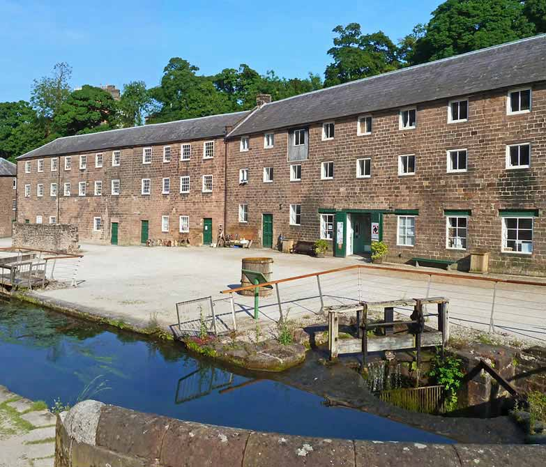 Arkwright's Mill Yard