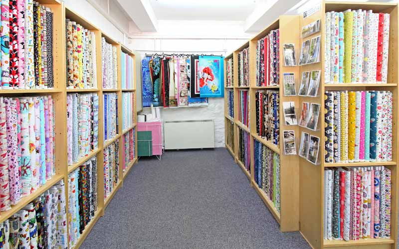quiltessential shop interior