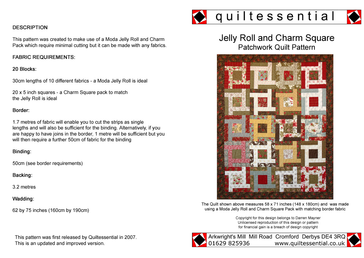Buy Patchwork Quilt Patterns designed exclusively for