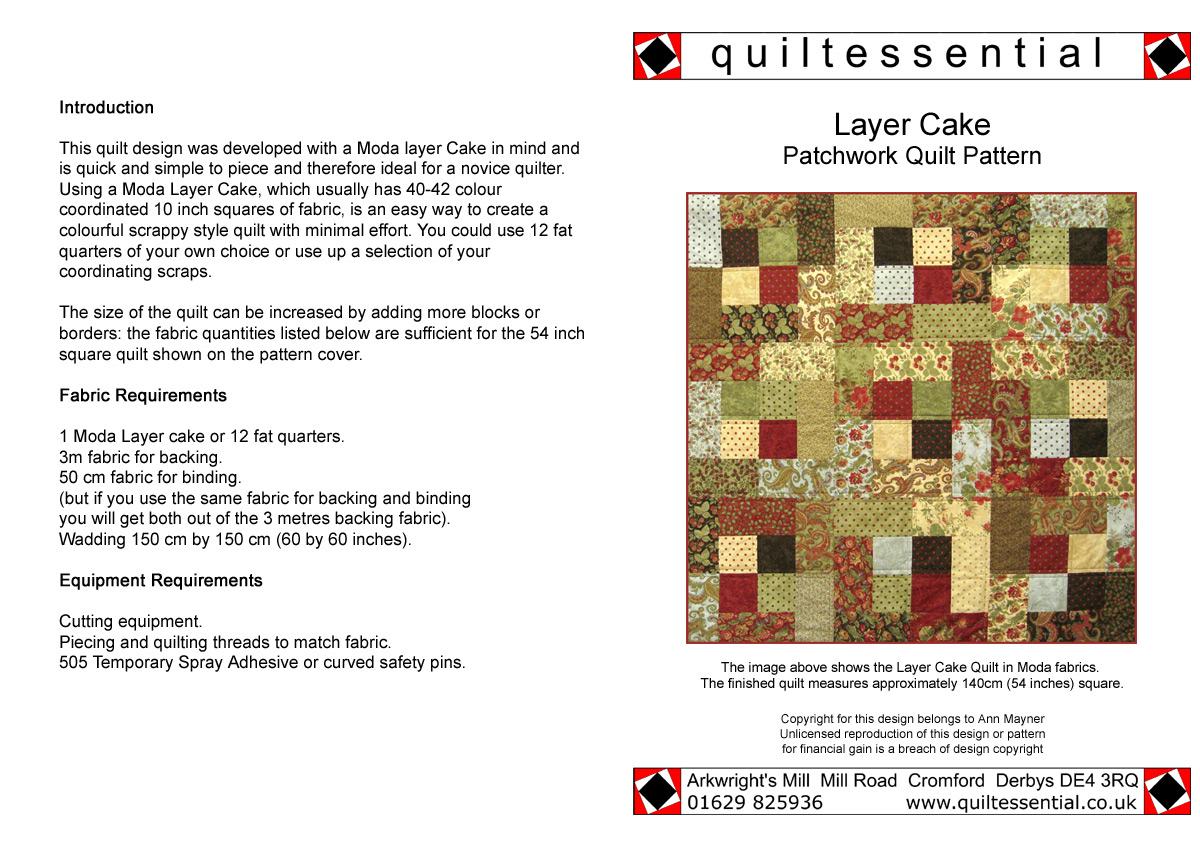 Buy Patchwork Quilt Patterns designed exclusively for ... : patchwork quilt patterns uk - Adamdwight.com