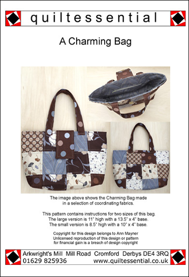 Quiltessential Charming Bag Pattern